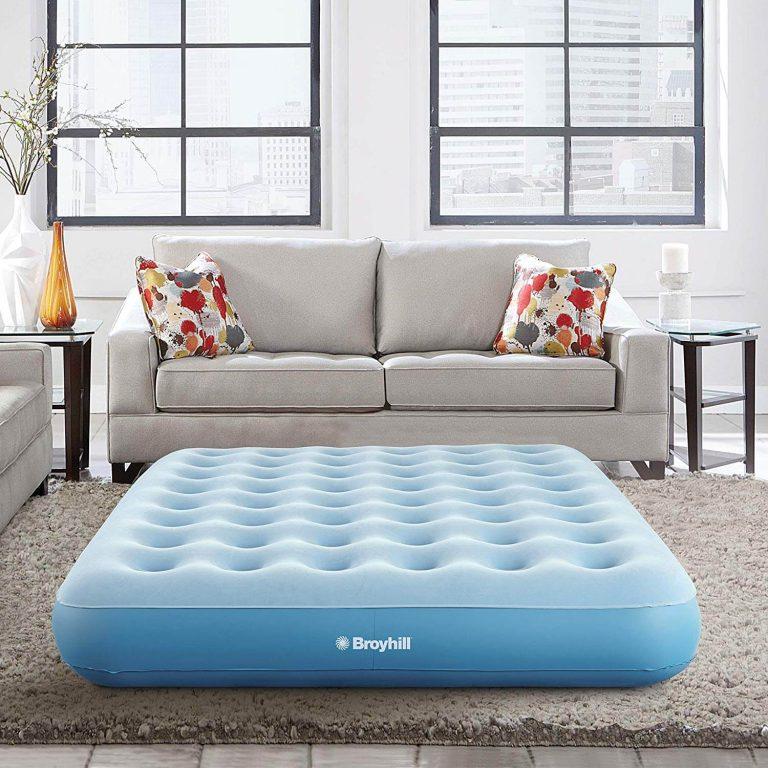 Best Air Mattresses-Broyhill Sleep Express Comfort Top Coil Air Bed Mattress