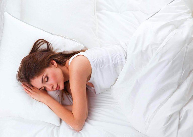 Continental Bedding Premium 100% White Goose Down Soft Pillow
