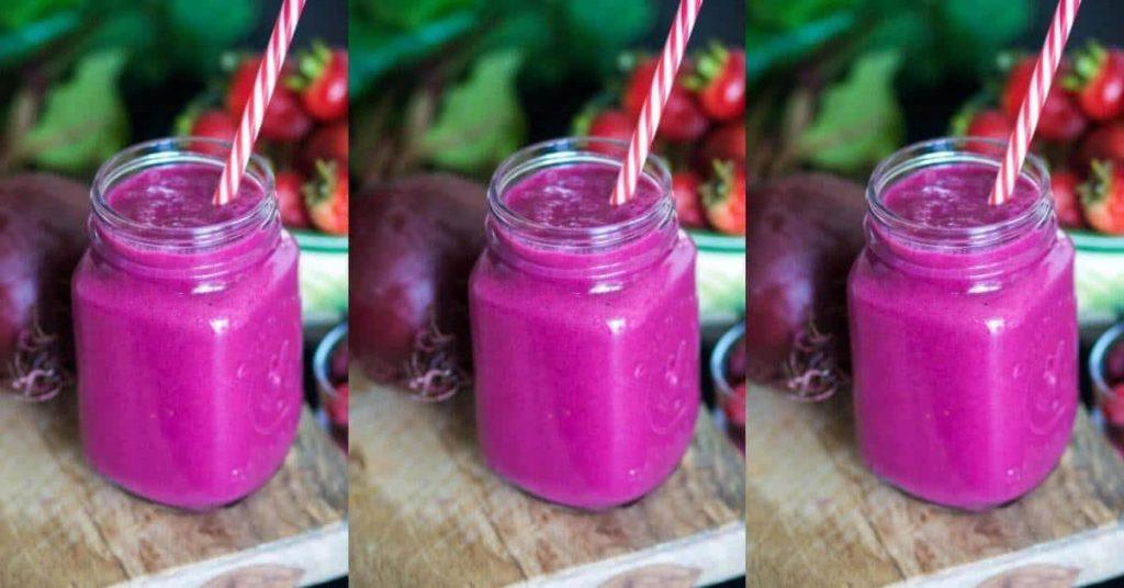 Beet Strawberry Smoothie