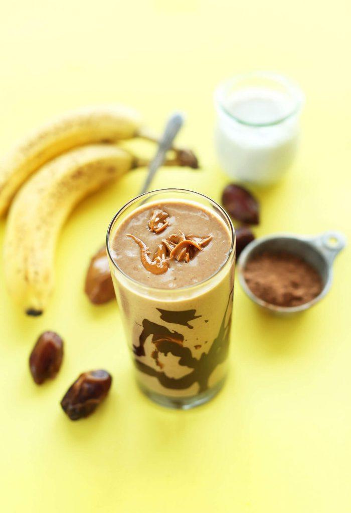 Choco-Peanut Butter Smoothie